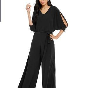 Black Rhinestone embellished jumpsuit